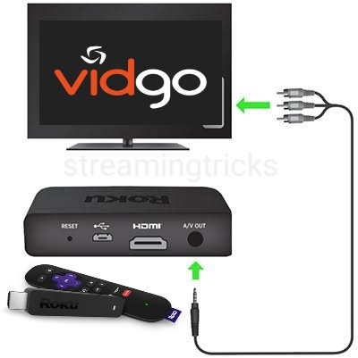 How to Install and Stream Vidgo on Roku