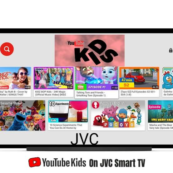 How to Install YouTube Kids on JVC Smart TV