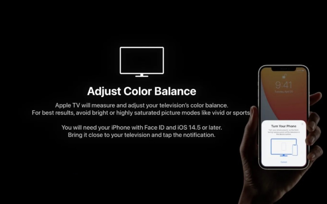 How to Calibrate Apple TV with iPhone